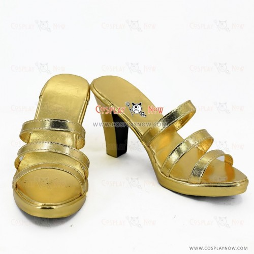 Fate Cosplay Saber Shoes for Girls