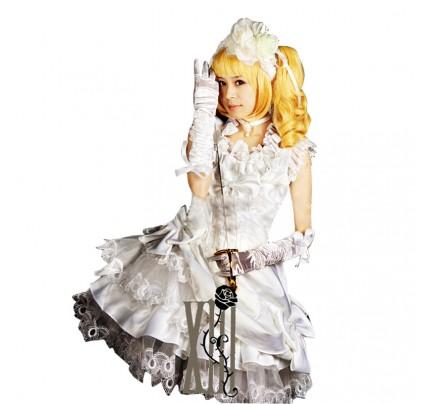 Black Butler Kuroshitsuji Cosplay Elizabeth Ethel Cordelia Midford Dress Costume
