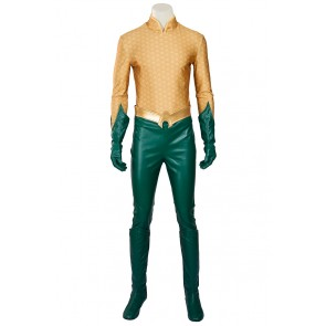 Aquaman Costume For Young Justice Cosplay Uniform