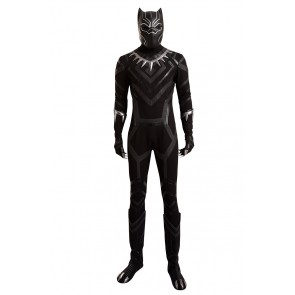 Black Panther Costume For Captain America 3 Civil War Cosplay