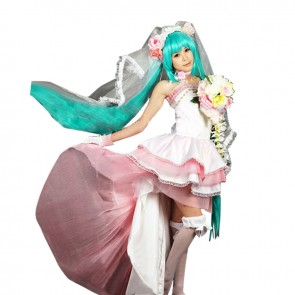 Vocaloid Cosplay Hatsune Miku Lolita Dress