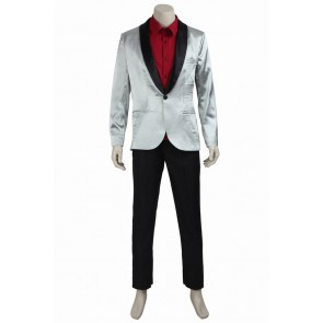 Suicide Squad Joker Batman Cosplay Costume Suit