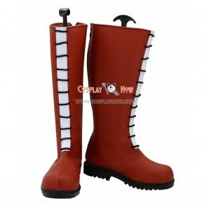 Hunter X Hunter Cosplay Shoes Allca Zaoldyeck Red Boots