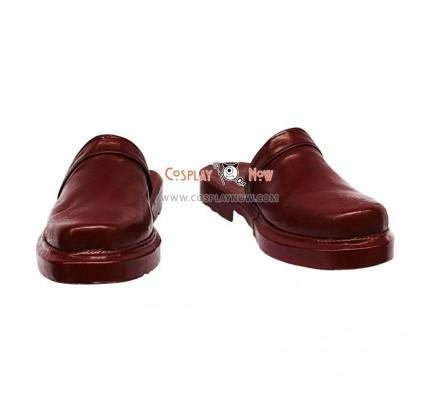 Yu-Gi-Oh! Akiza Izinski Brown Cosplay Shoes
