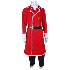 Fairy Tail Cosplay Freed Justine Costume Uniform