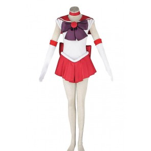 Sailor Mars Rei Hino Costume For Sailor Moon Cosplay