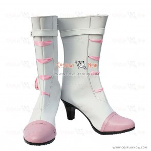 Macross Frontier Cosplay Shoes Sheryl Nome White Boots