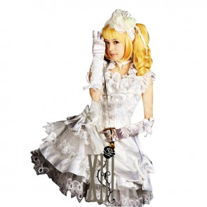 Black Butler Kuroshitsuji Cosplay Elizabeth Ethel Cordelia Midford Dress Costume