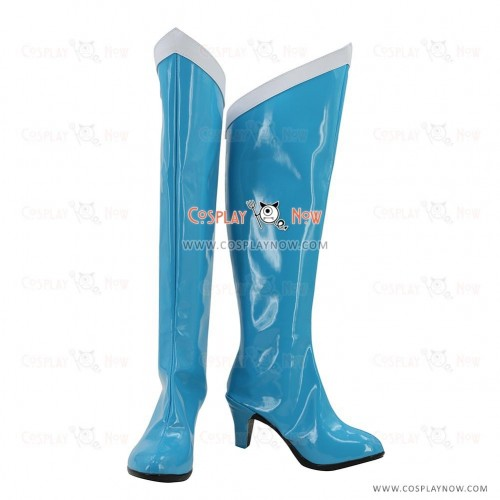 Sailor Moon Cosplay Shoes Mizuno Ami Sailor Mercury Boots