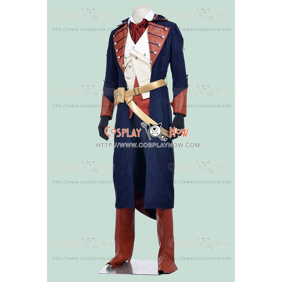 Arno Victor Dorian Costume For Assassins Creed Unity Cosplay Outfit