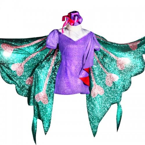 Uta No Prince Sama Cosplay Tsukimiya Ringo Butterfly Dress Costume