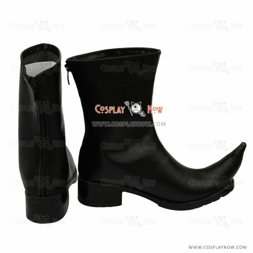 D. Grayman  Cosplay Shoes The Millennium Earl Boots