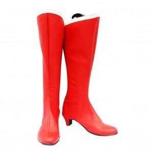 Sailor Moon Usagi Tsukino Red Cosplay Boots