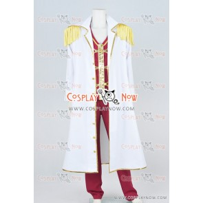 One Piece Black Cage Hina Cosplay Costume