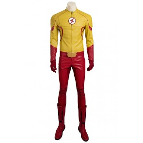 Kid Flash Costume For The Flash Season 3 Cosplay