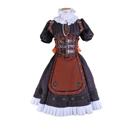 Alice Madness Returns Cosplay Steam Costume Dress