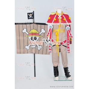 One Piece Going Merry Cosplay Costume