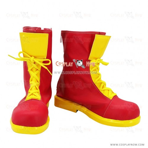 Love Live! Cosplay Shoes Happpy Maker Boots