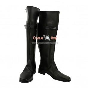 Unplay Cosplay Shoes Deadman Wilhelm Black Boots