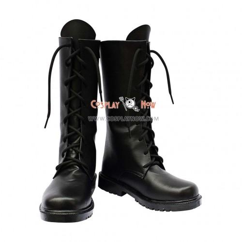 Hakuouki Cosplay Shoes Hajime Saito Boots
