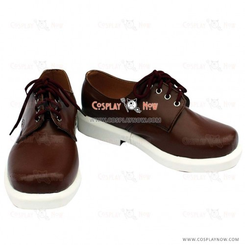 K Project Cosplay Yashiro Isana Brown Cosplay Shoes