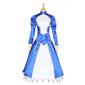 Fate Stay Night Cosplay Saber Costume
