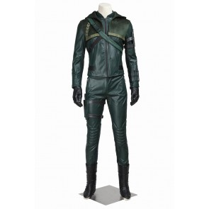 Green Arrow Season 3 Cosplay Oliver Queen Costume