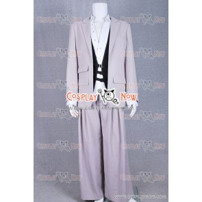 Final Fantasy VII Advent Children Cosplay Rufus Shinra Costume