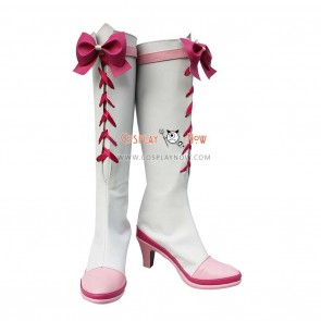 Pretty Cure Cosplay Shoes Cure Rhythm White Boots
