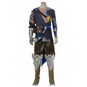 Hanzo Shimada Costume For Overwatch Cosplay Uniform