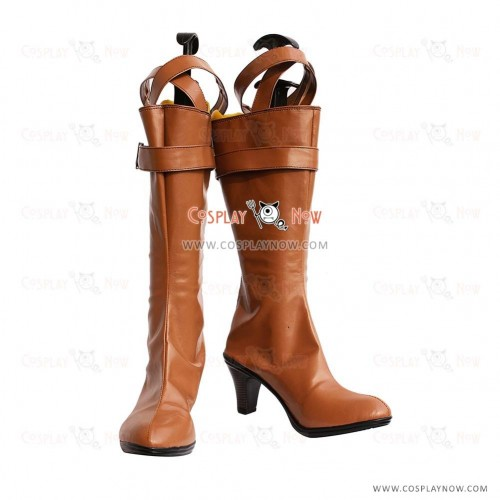 Tiger & Bunny Cosplay Shoes Karina Lyle/Blue Rose Boots