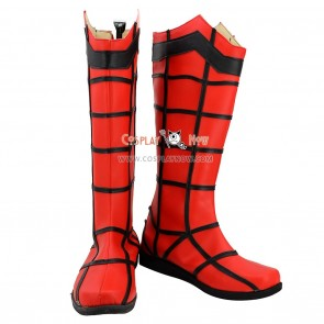 Spider Man Cosplay Boots for Man