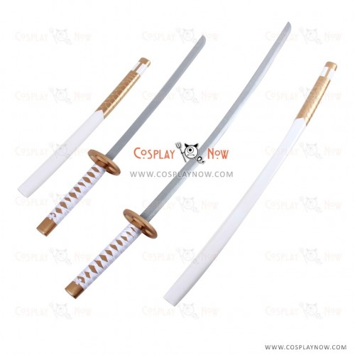 Sengoku Night Blood Cosplay Uesugi Kenshin swords