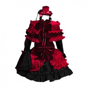 K Cosplay Anna Kushina Gothic Lolita Dress Costume