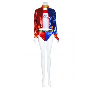 Harley Quinn From Suicide Squad Cosplay Costume