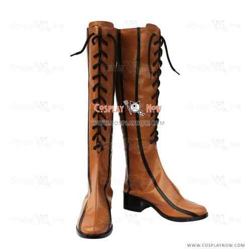 Vocaloid 2 Rin Cosplay Boots Custom Made