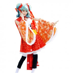 Vocaloid Hatsune Miku Cosplay Costume Dress