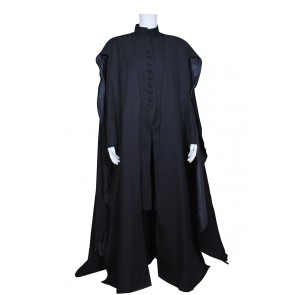 Harry Potter Deathly Hallows Cosplay Severus Snape Costume