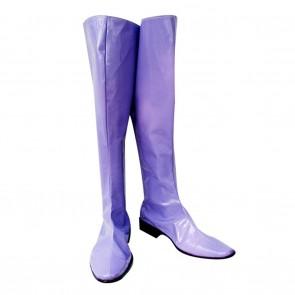 Gundam Seed Cosplay Shoes Gihren Zabi Purple Boots