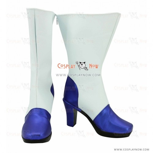 Vocaloid Snow Miku Cosplay Boots
