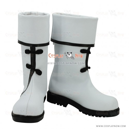 VOCALOID Snow Miku Cosplay Shoes Yan He Boots