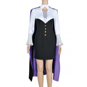 RWBY Cosplay Glynda Goodwitch Costume Uniform
