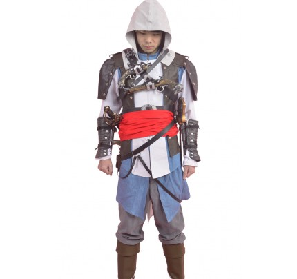 Edward James Kenway Costume For Assassins Creed Cosplay