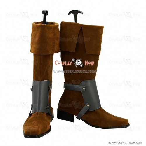 Tangled Cosplay Shoes Flynn Ryder Boots