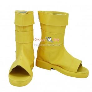 Naruto Uzumaki Naruto Cosplay Shoes Nine-Tails Bijuu Mode Golden Boots