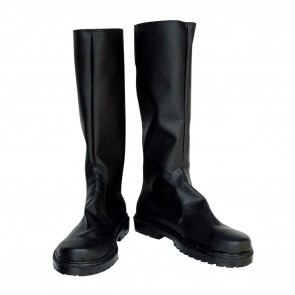 D.Gray-man Cosplay Shoes Bak Chan Black Boots