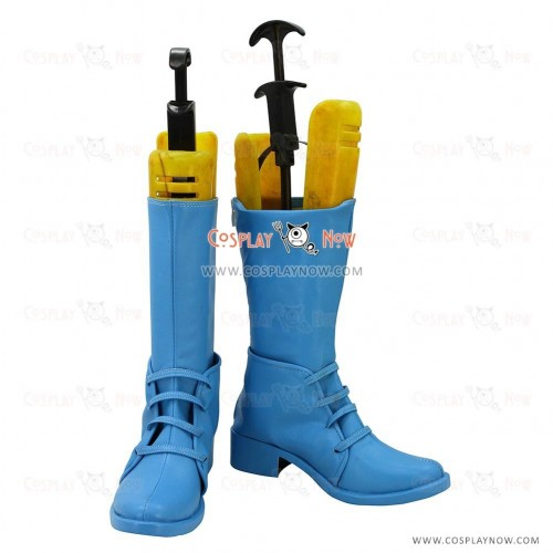 JOJO Cosplay Shoes Caesar Anthonio Zeppeli Blue  Boots