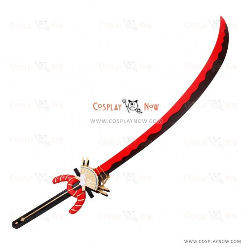 Twin Star Exorcists Cosplay Demon knife girl Props with Sword