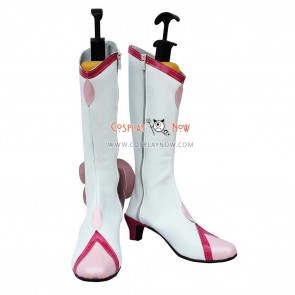 Pretty Cure Cosplay Shoes Cure Blossom White Boots
