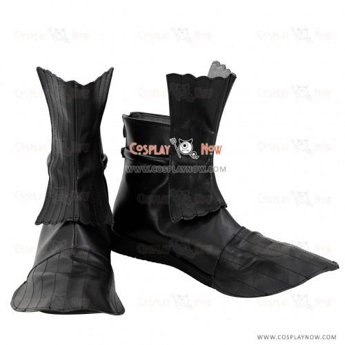 Touken Ranbu Online Urashima Kotetsu Black Shoes Cosplay Boots